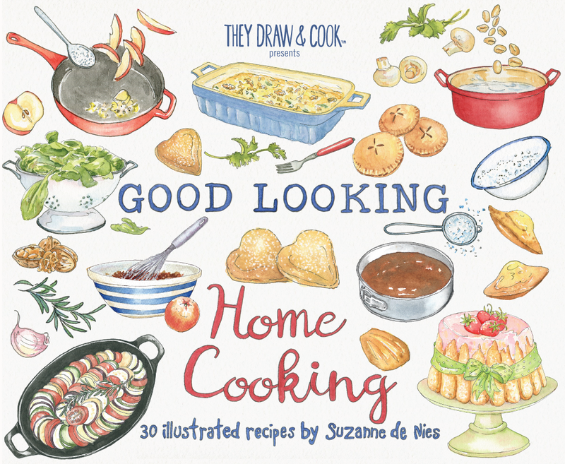 30 Gorgeously Illustrated Recipes By Illustrator And Chef Liv Wan This Is The 5th In Our Series Of Single Artist Cookbooks