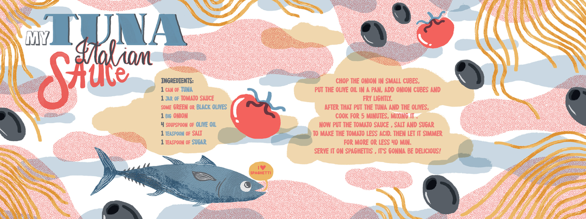 Elisa caroli tuna sauce