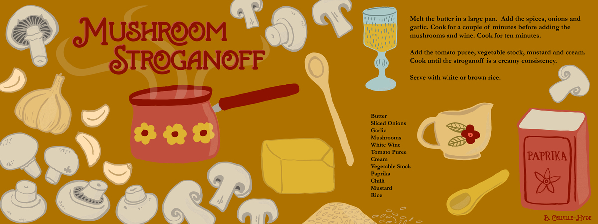 Mushroom stroganoff 01