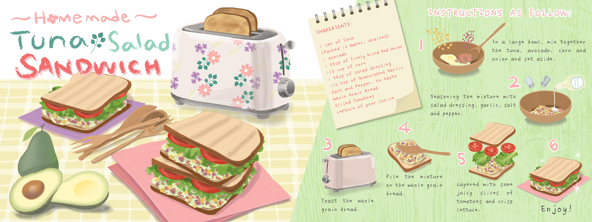 Recipe homemade tuna salad sanwich b 01