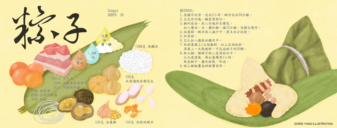 20170614 doris submit zongzi