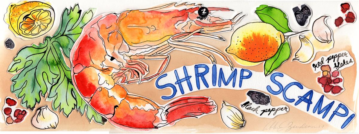 Shrimp scampi abbiezuidema