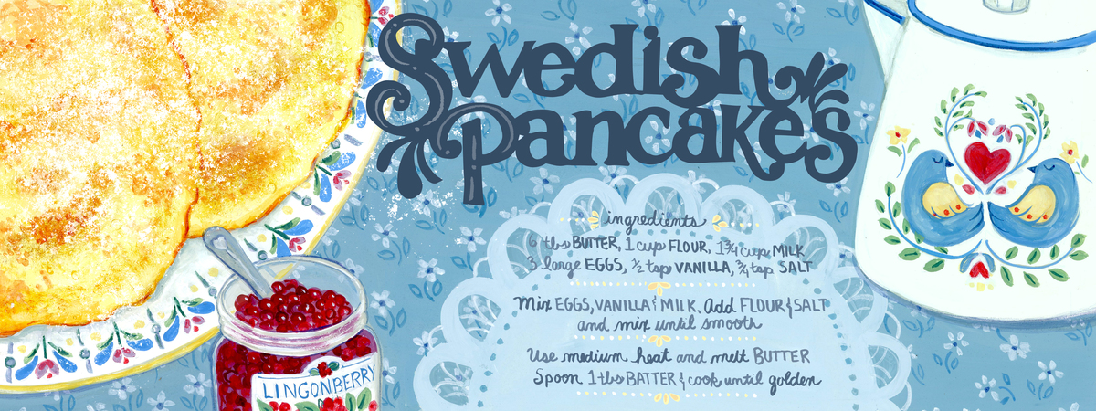 Swedish pancakes