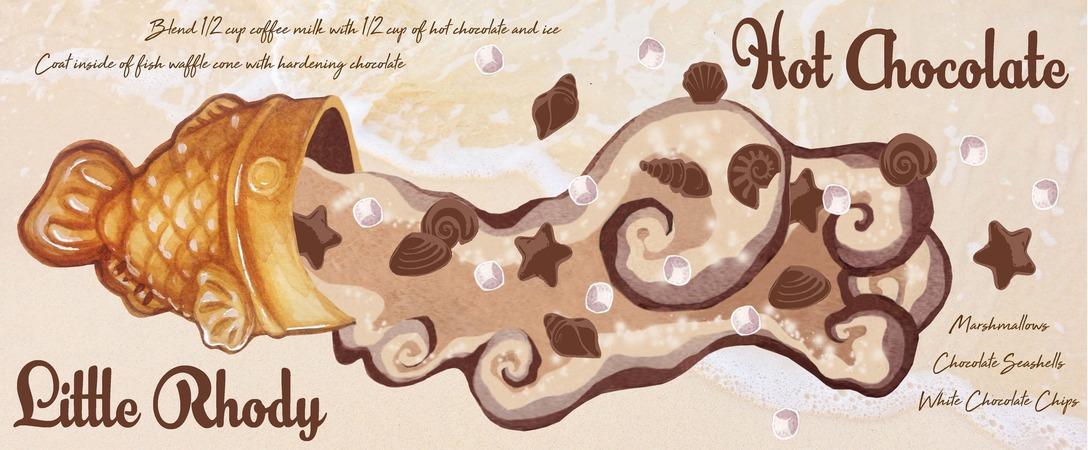 Fish chocolate
