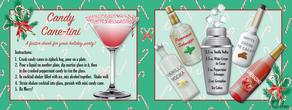 Lisa lane candy cane martini hr