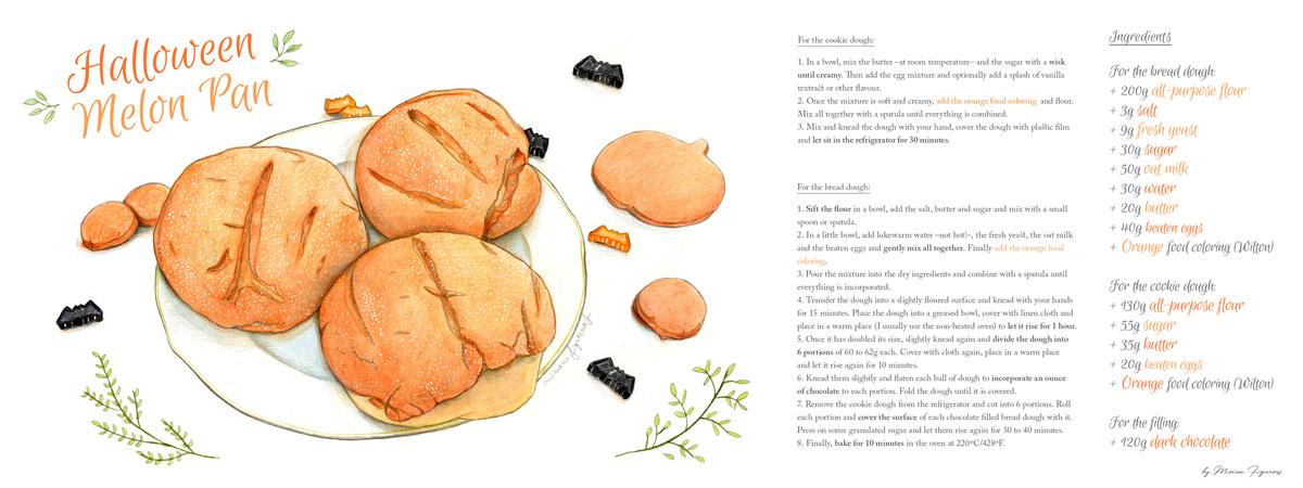 Melonpan recipe high