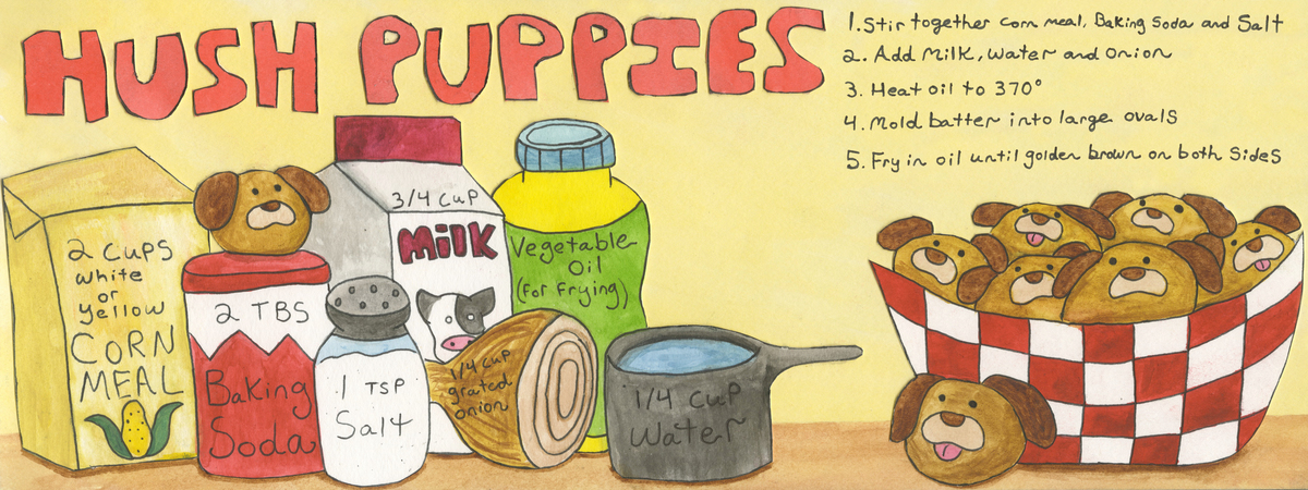 Mcging hushpuppies