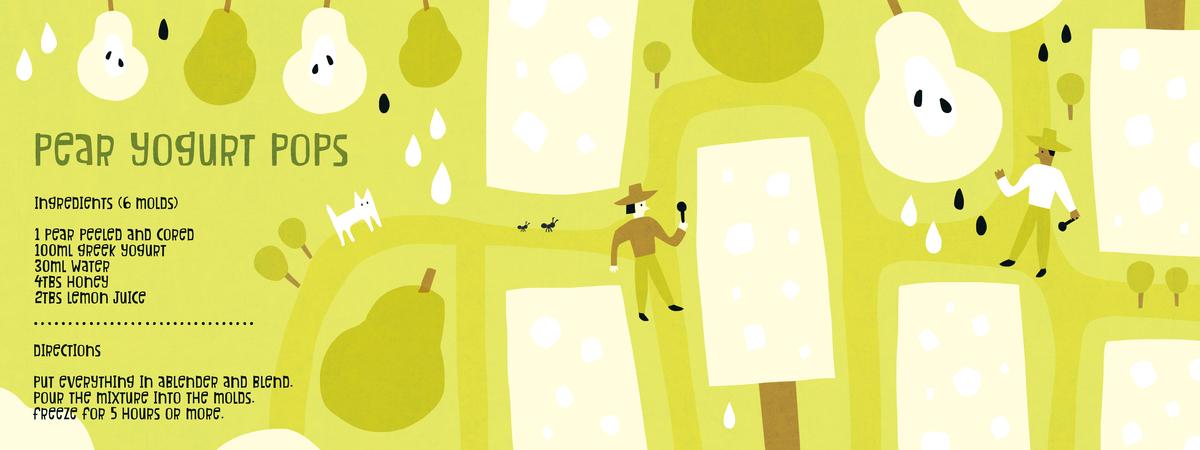 Pear pop
