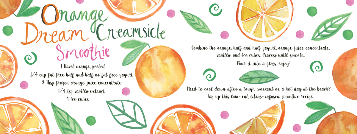 Orange  dream creamsicle