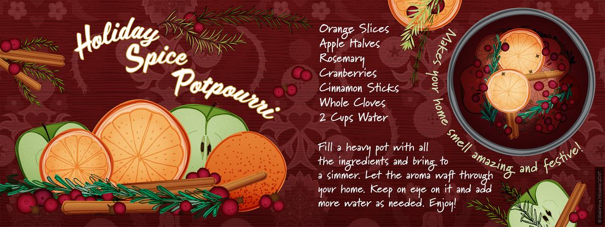 Sabrina hoeke holiday spice potpourri