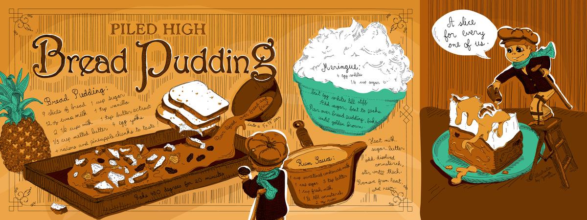 Vieira pudding 300