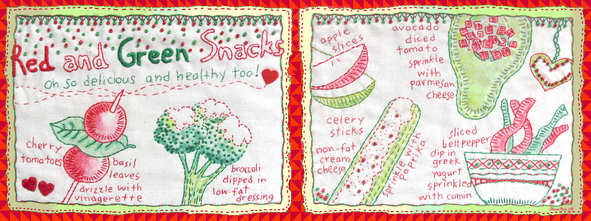 2011 tdac   red and green snacks sharon mann