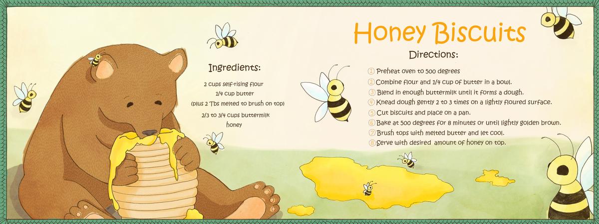 Honey Biscuits by Angela Ethridge