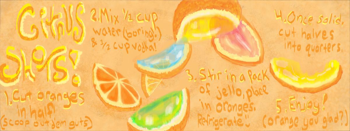 Citrus shots