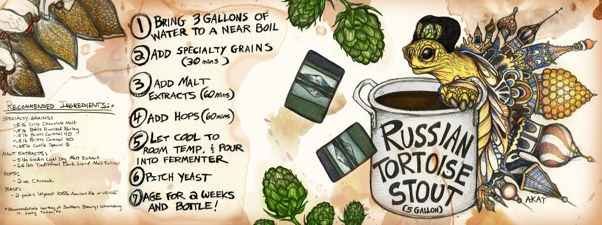 Arielle katarina russian tortoise stout