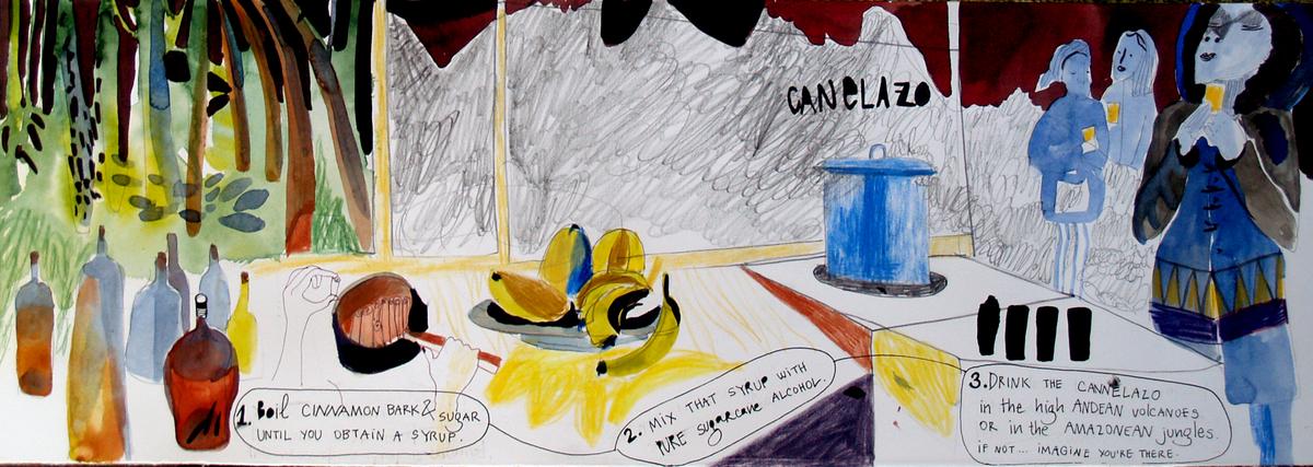 Canelazo by Andrea Lubomirova Popyordanova - They Draw & Cook