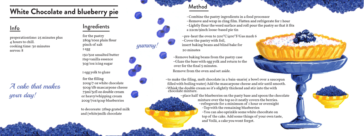 how to cook blueberry pie
