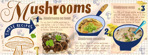 We love mushrooms