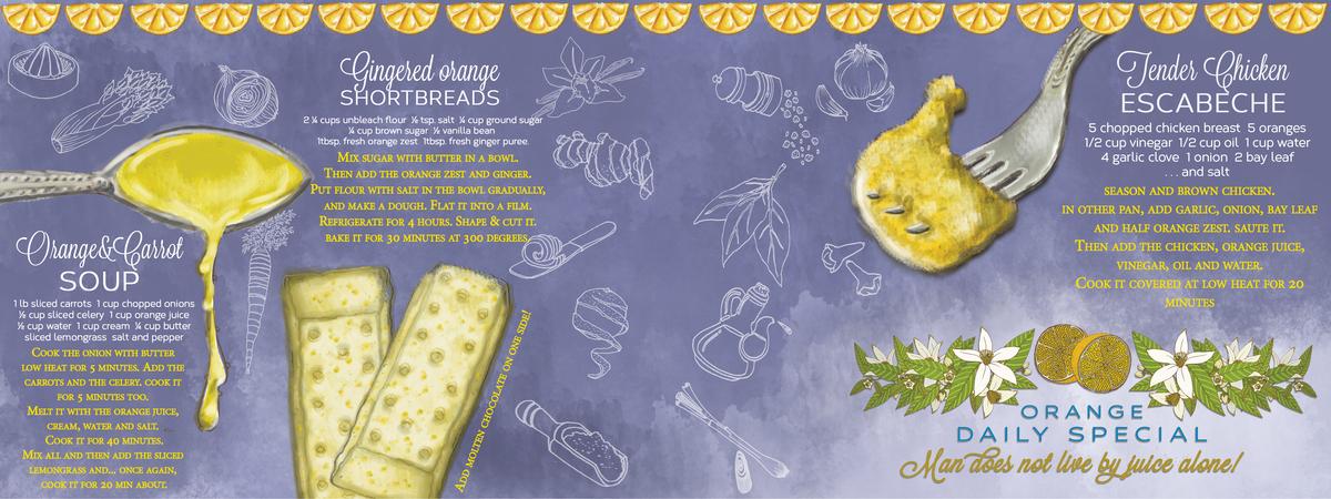 Leticia oranges recipe