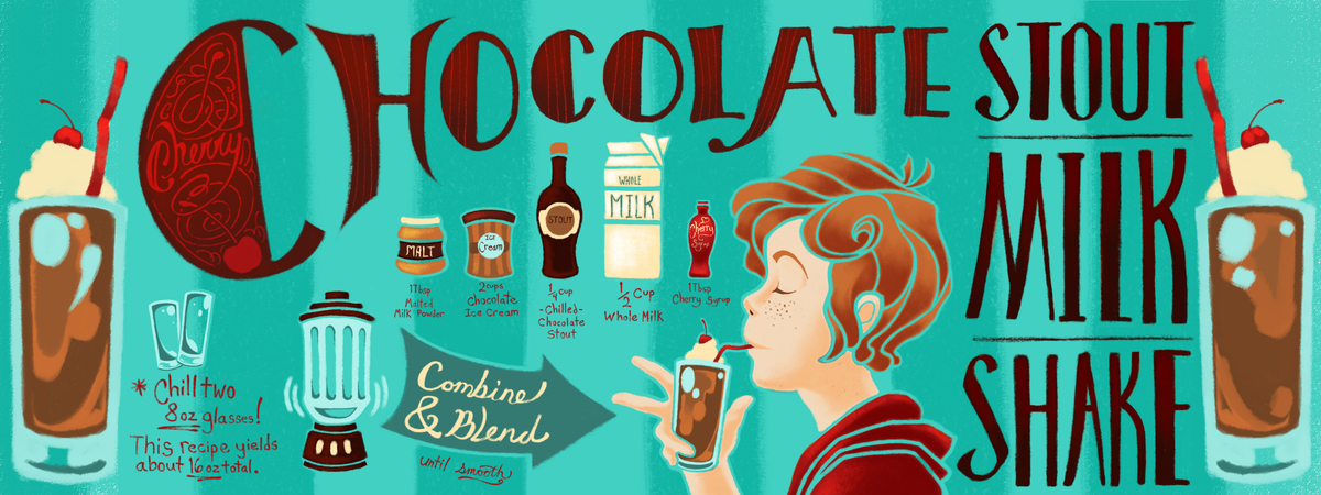 Tufts   stout shake illustration
