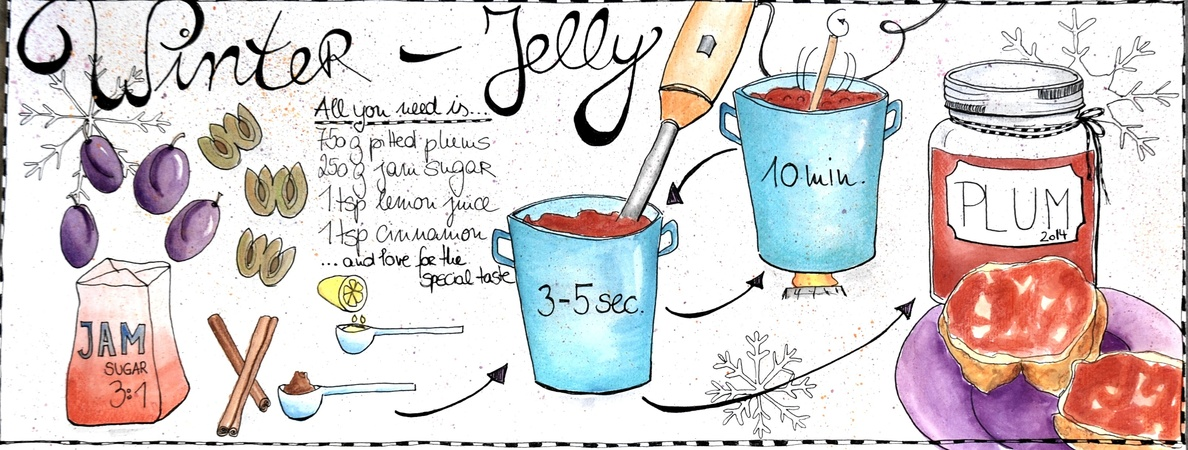 Winter jelly sandra k