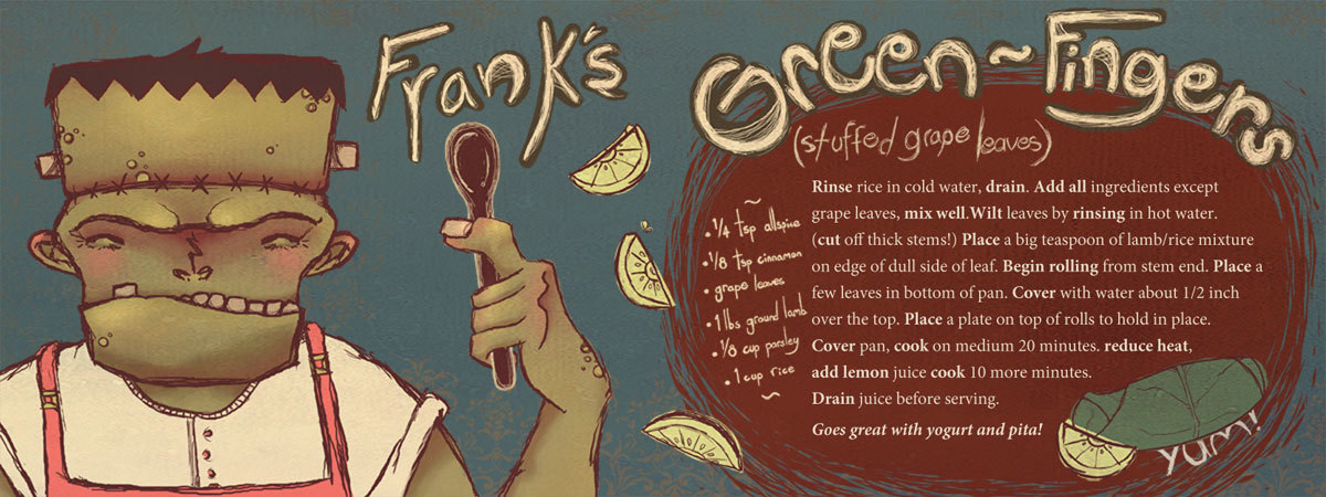 Franks green fingers by jessica dikdan