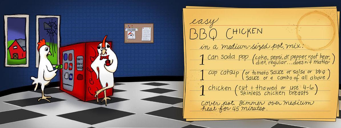 Bbq chicken by sue tincher maib