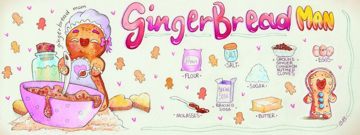 Basile gingerbread 300