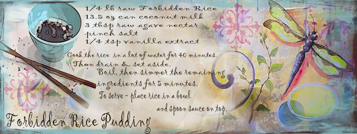 Forbidden rice pudding by jennifer lorton
