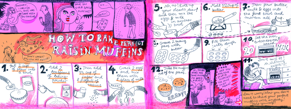 Oklejak muffins 300