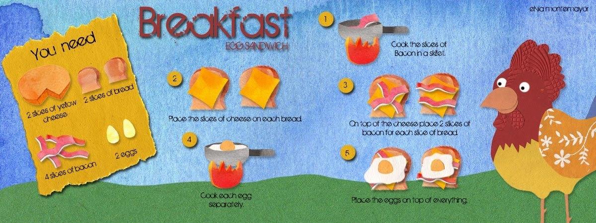 Egg sandwich by elvia montemayor