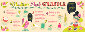 Madison park granola julissamora