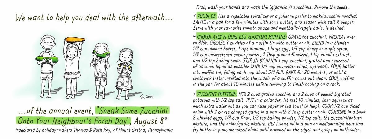 Lena umezawa zucchini kids