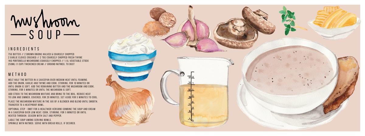 Mushroom soup 01