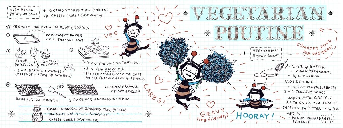 Lena umezawa vegetarian poutine