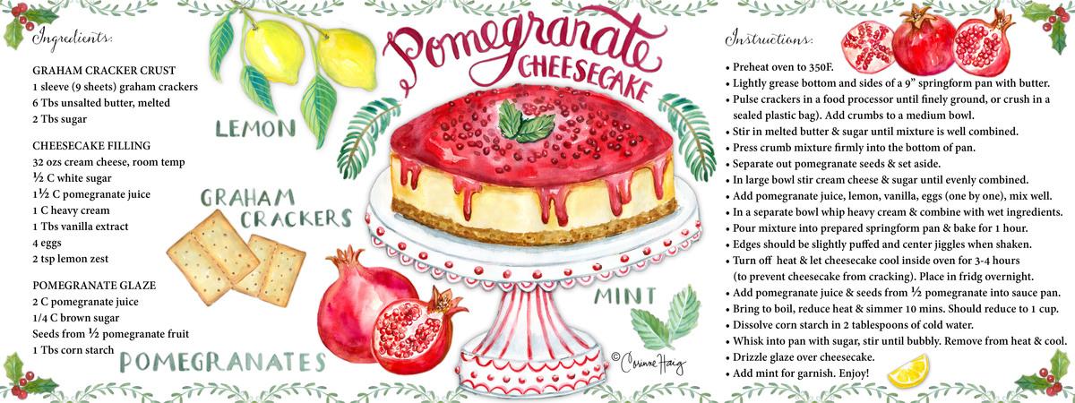 Haig pomegranatecheesecake tdac