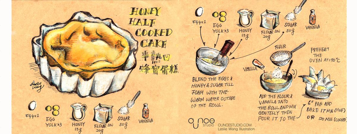 Hony cake recipe