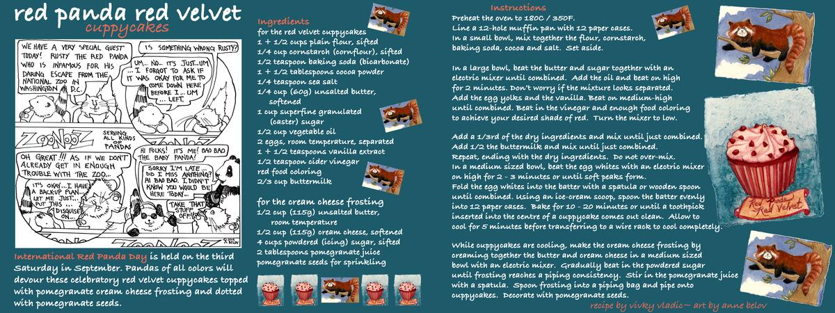 Vladic belov red panda red velvet cuppy cakes tdac