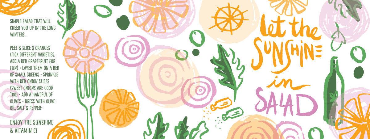 Orange salad