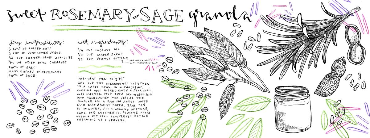 Mcgraw tdac rosemarysagegranola