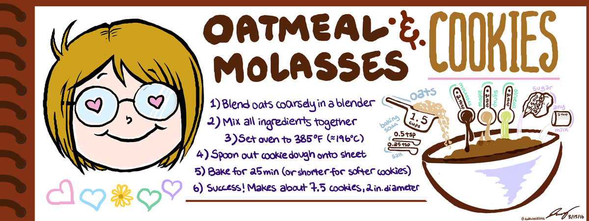 Oatmealmolassescookies for tdac