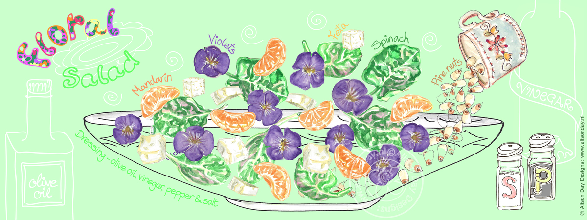 Floralsalad byalisonday