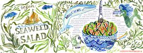 Seaweedsalad mitzietestani
