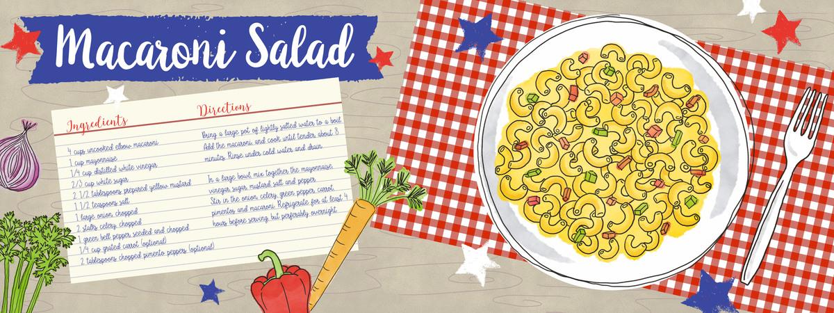 Macaroci salad spread