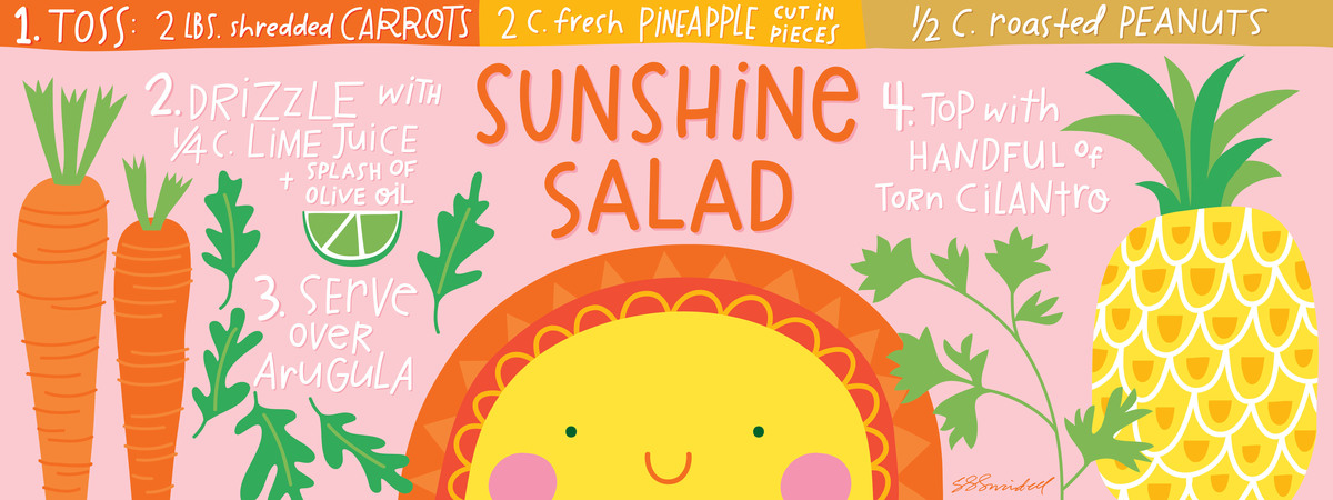 Sunshine salad 01