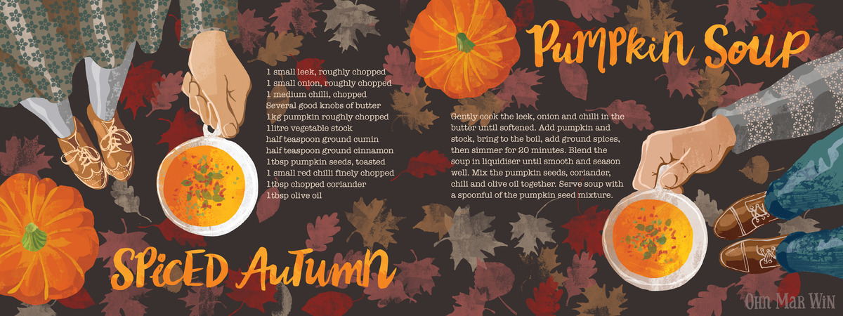 Pumpkin soup layout 01