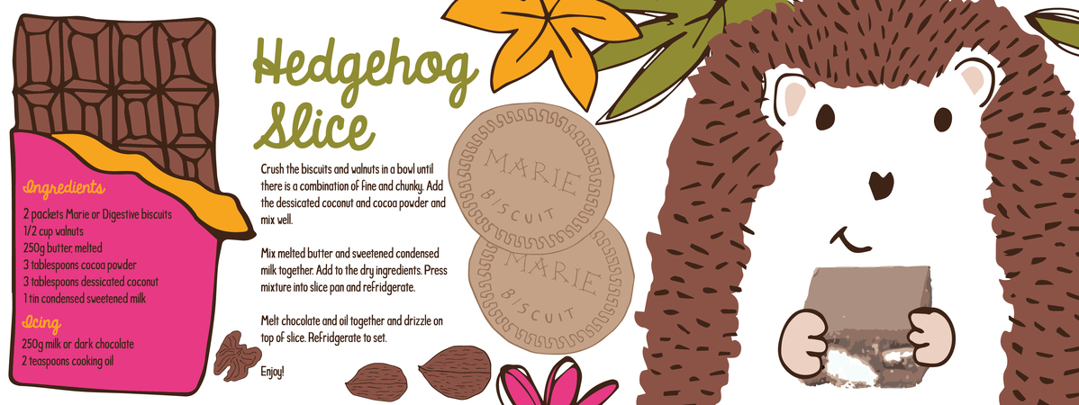 Hedgehog slice 16.667 x 6.25