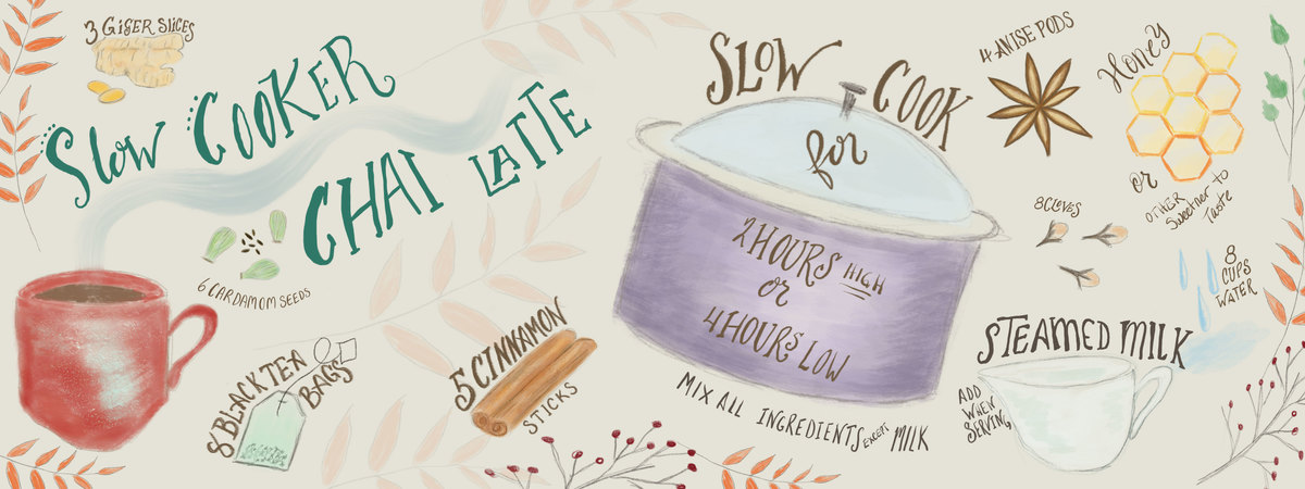 Slow cooker chai latte 2