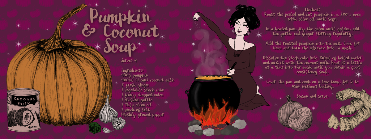 Bettygrove pumpkincoconut recipe