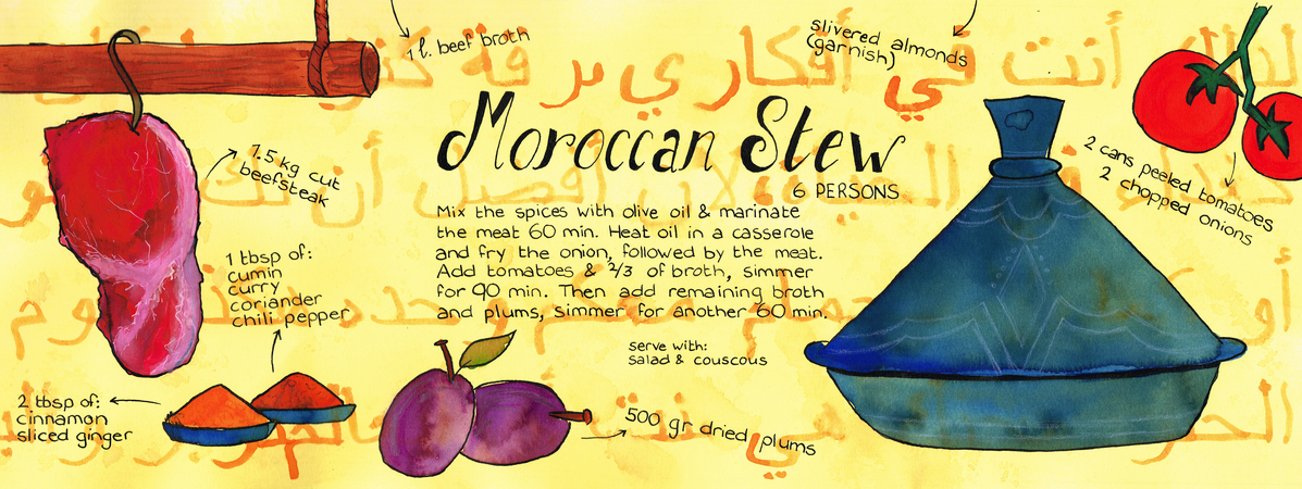 Moroccan stew sve